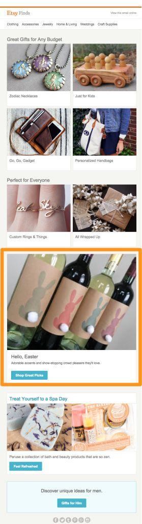 65 best inspiring easter emails images on pinterest email design tips for inspiring easter emails negle Gallery