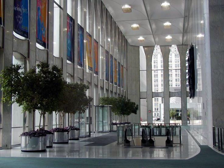 New York, World Trade Center, Twin Tower 1 Lobby (Before 2001)