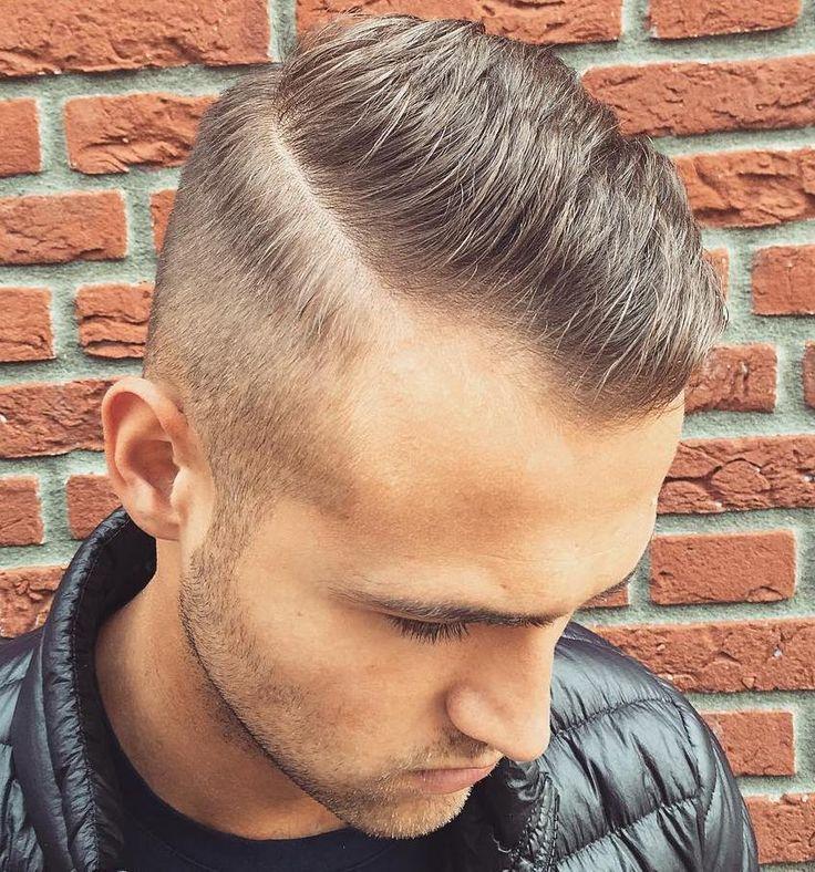 Short Side Part Cut For Receding Hairline