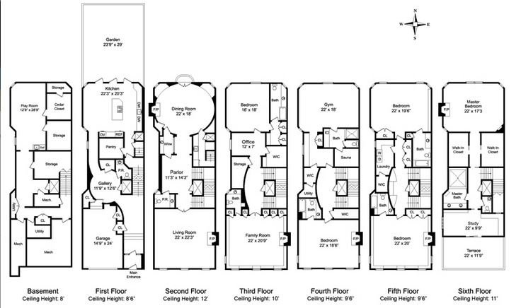 1454 best a r c h images on pinterest small for Victorian townhouse plans
