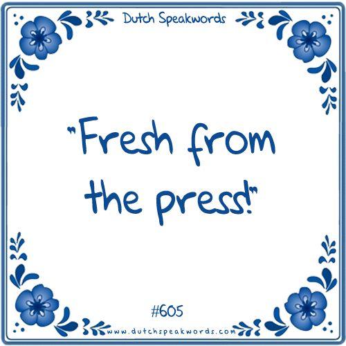 Vers van de pers