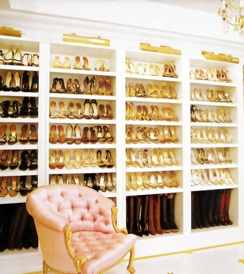 10 best celebrity shoe closets - mariah carey