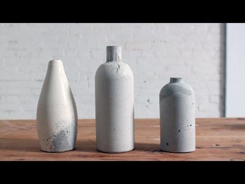 Tutoriel : réaliser des vases en béton