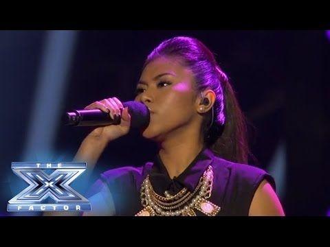 "Ellona Santiago sang  ""Titanium""  @The X Factor USA  2013 TOP 13 2nd result show"