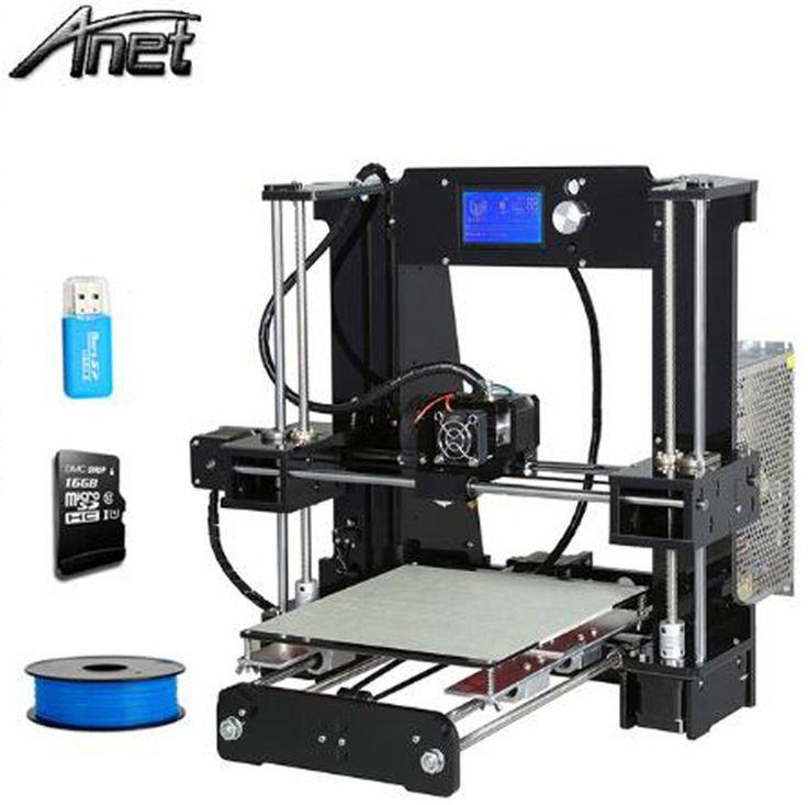 Big discount US $103.68  Good Compatibility Anet A8/A6/A2/A3S/E10 3D Printer High Resolution Reprap Prusa i3 DIY 3D Printer Kit 1.75mm Filament  #Good #Compatibility #Anet #AAAASE #Printer #High #Resolution #Reprap #Prusa #Filament  #Office