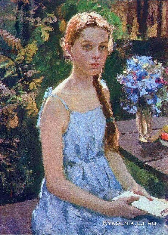 Суздальцев Михаил Аркадьевич (Россия, 1917–1998) «Анюта»