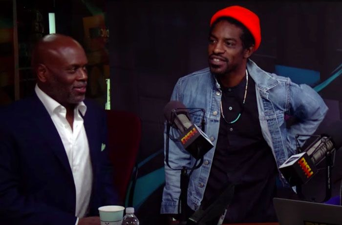 André  3000  has  shied  away  from  the  spotlight,  but  he  made  a  surprise  appearance  during  L.A.  Reid's  interview  earlier  this  ...