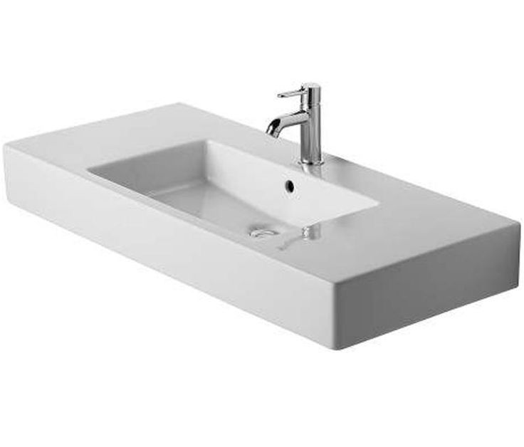 Images Photos Vero Furniture Washbasin with Overflow and Tap Hole Faucet