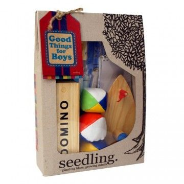 #Entropywishlist #pintowin This Seedling box for boys would be so perfect for my nephew, hours of entertainment.