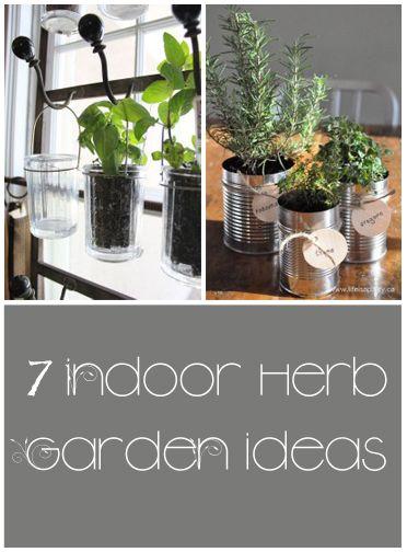 7 indoor herb garden ideas
