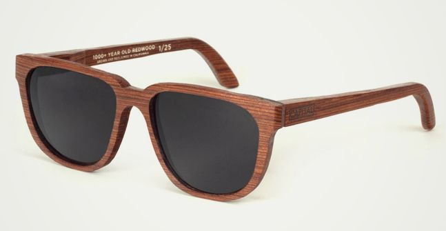 1,000+ Year Old Reclaimed Redwood Sunglasses