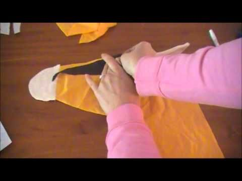 How to Make a Hobby Horse For Kids : How to Make Eye Holes for Hobby Horse - YouTube