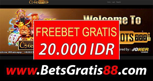 Cafeslot777 Freebet Gratis Rp 20 000 Tanpa Deposit Slots
