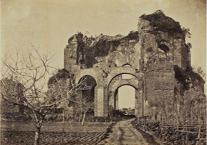 Tempio di Minerva Medica Anno: 1857 ca.
