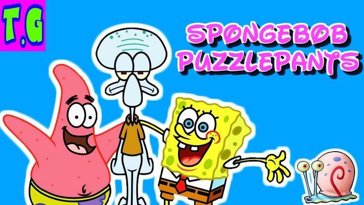 SPONGEBOB PUZZLEPANTS | funny spongebob online games for kids.