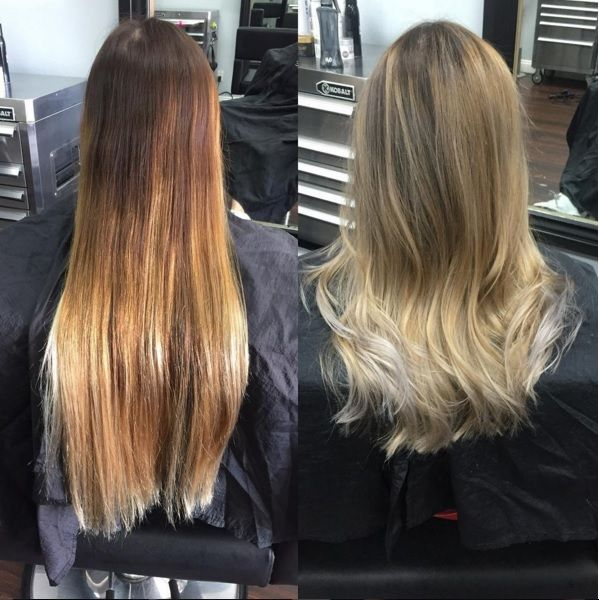 1000 ideas about color melting hair on pinterest copper for Balayage tie and dye maison