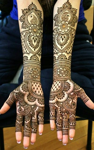 Mehendi Designs - Simple Bridal Hand Mehendi Design | WedMeGood #wedmegood #indianbride #mehendidesign #mehandi #bridal #indianbride #indianwedding #simple