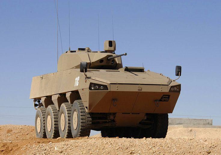 Южноафриканский вариант БМП на шасси Patria AMV с башней Denel LTC 30