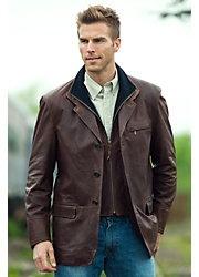 Men's Montreaux Moroccan Lambskin Leather Blazer  Style #25545  $1,695.00