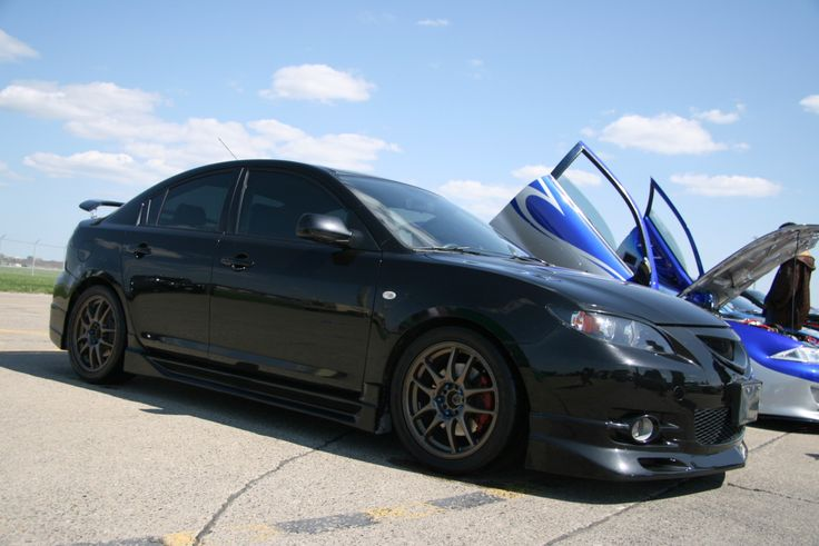 another angle of the modified 2008 Mazda 3 that I'm in love with.
