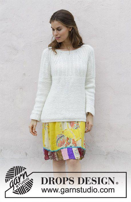 Sweet Pearl Free Sweater Knitting Pattern   All my favs   Pinterest ...