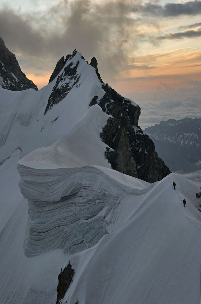 The Rochefor Arete, Chamonix | France (by Ruahine Tramper)