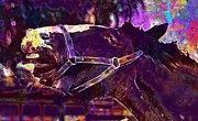 "New artwork for sale! - "" Shire Horse Horse Stick Out Tongue  by PixBreak Art "" - http://ift.tt/2tyQUSm"