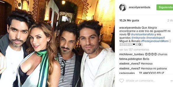 Aracely Arámbula se vuelve centro de atención en la web