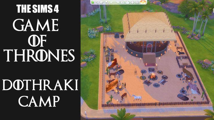 The Sims 4 Games of Thrones - Dothraki Camp (Vaes Dothrak)