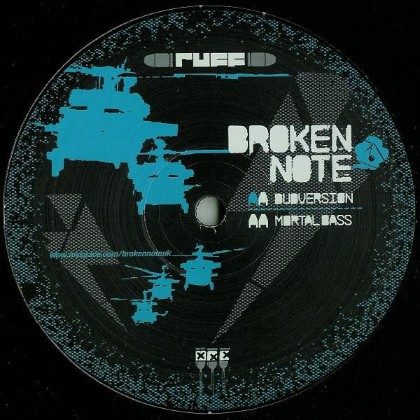 Broken Note Dubversion Mortal Bass Vinyl 12 45 Rpm Discogs Notes Bass Broken