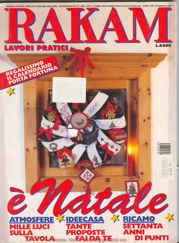 """""""Rakam e Natale"""" 2000."""