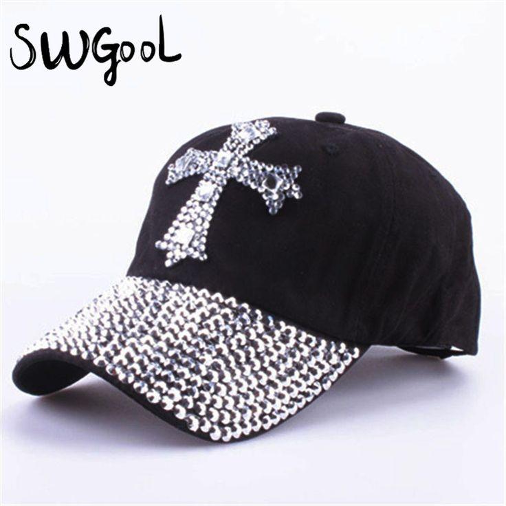 $5.22 (Buy here: https://alitems.com/g/1e8d114494ebda23ff8b16525dc3e8/?i=5&ulp=https%3A%2F%2Fwww.aliexpress.com%2Fitem%2Fwholesale-2015-new-fashion-baseball-cap-For-men-women-Outdoor-sun-hat-The-adjustable-100-cotton%2F32415235734.html ) Baseball cap For men & women wholesale 2016 new fashion  sun hat The adjustable 100% cotton rhinestone cap hat Free shipping for just $5.22