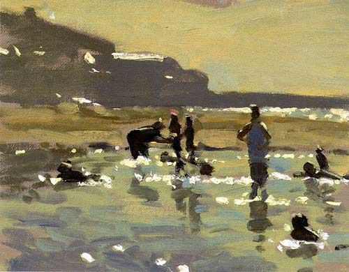Ken Howard The End of the Day  http://www.kenhoward.co.uk/