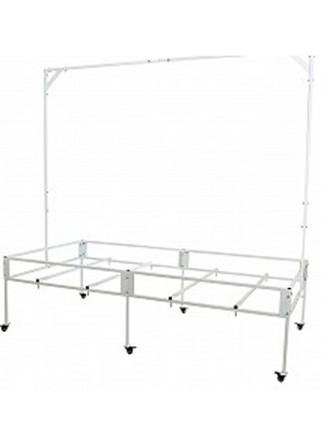 Aquaponic supplies: Active aqua 4 x 8 tray table - http://sunlandwatergardens.com/swg_products/aquaponic-supplies-active-aqua-4-x-8-tray-table/