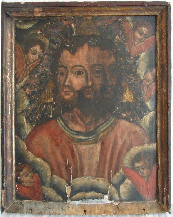 Atelier necunoscut, Sf. Troiță într-un trup, sfârșitul sec. XVIII
