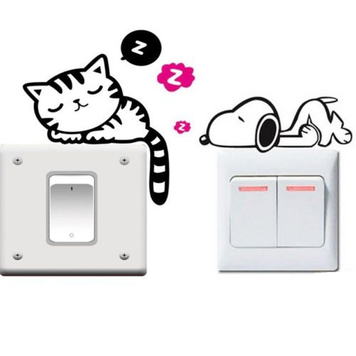 Sleeping Cat/Dog Sticker   Free Worldwide Shipping!  Only $2.79    Order from: www.happycozyhome.com
