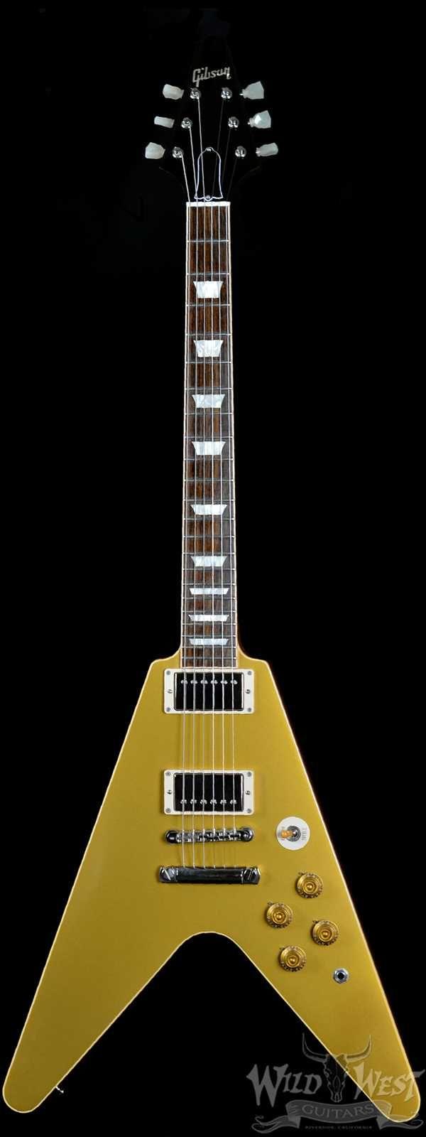 gibson custom shop 1967 flying v guitare electrique vintage sunburst