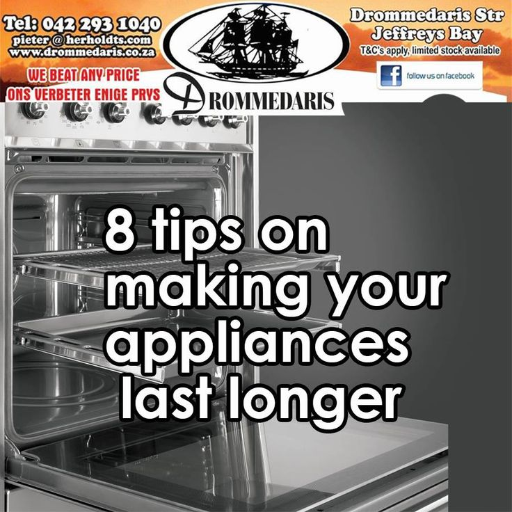 Appliances are sometimes very expensive, so we try to make them last as long as possible. Here are a few tips to help you do exactly that, http://apost.link/120. #lifestyle #appliances #homeimprovement