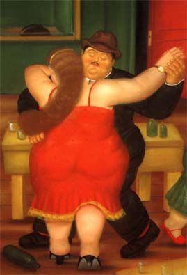 Tango de Fernando Botero