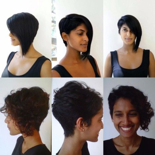 Indian Asymmetrical Short Hairstyles Short Indian Hairstyles