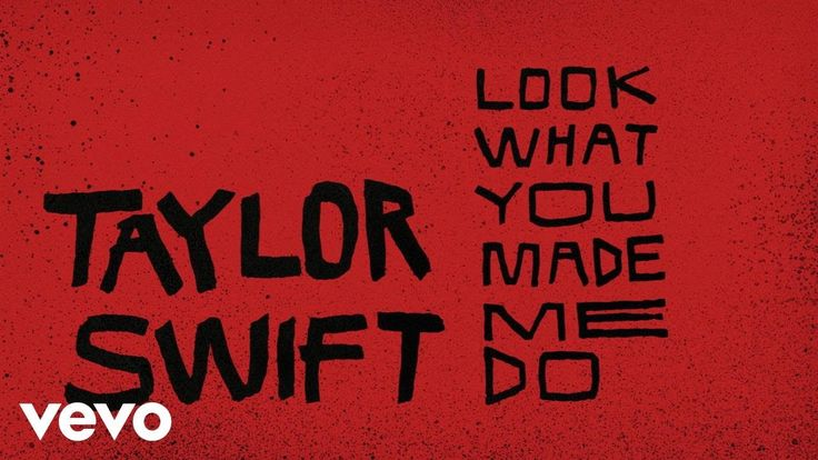 Taylor Swift - Look What You Made Me Do (Lyric Video) Good didn't like old Taylor anyways hahaha