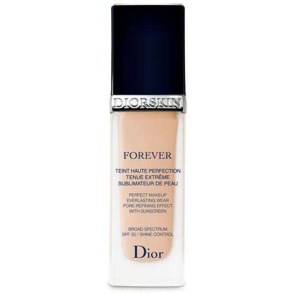 Dior Light      Beige Forever Perfect Makeup Light Beige ($50) ❤ liked on Polyvore featuring beauty products, makeup, face makeup, foundation, light beige, christian dior foundation and christian dior