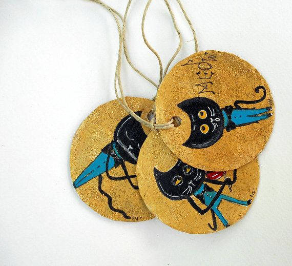 set of three recycled cardboard gift by cukipokshop on Etsy