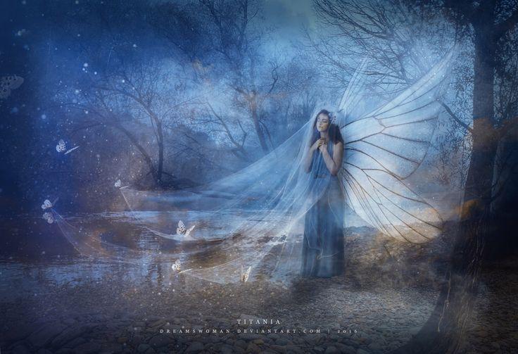 Titania by dreamswoman on @DeviantArt