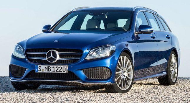 Carscoops: Mercedes Details New 2015 C-Class Estate in 50 Pho...