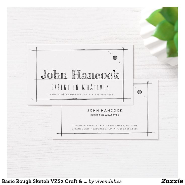 54 best zazzle collection business cards images on pinterest basic rough sketch vzs2 craft construction business card reheart Choice Image