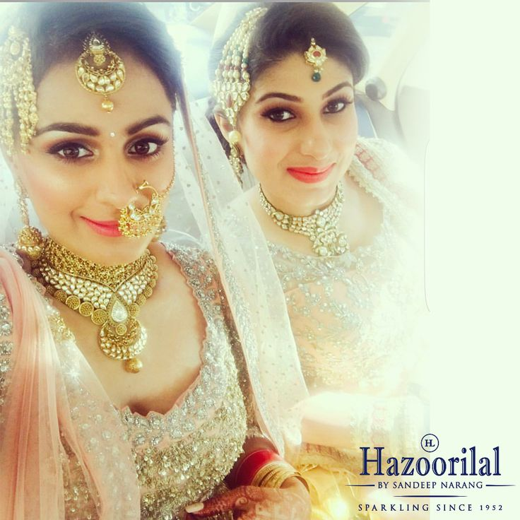 Bright and gold as the story unfolds. #HazoorilalBySandeepNarang #BridesHazoorilalBySandeepNarang #BridalLooks2017 #Diamonds #Solitaires #IndianWeddings #BridesHazoorilal #ItcMaurya #DlfEmporio #HazoorilalJewellers
