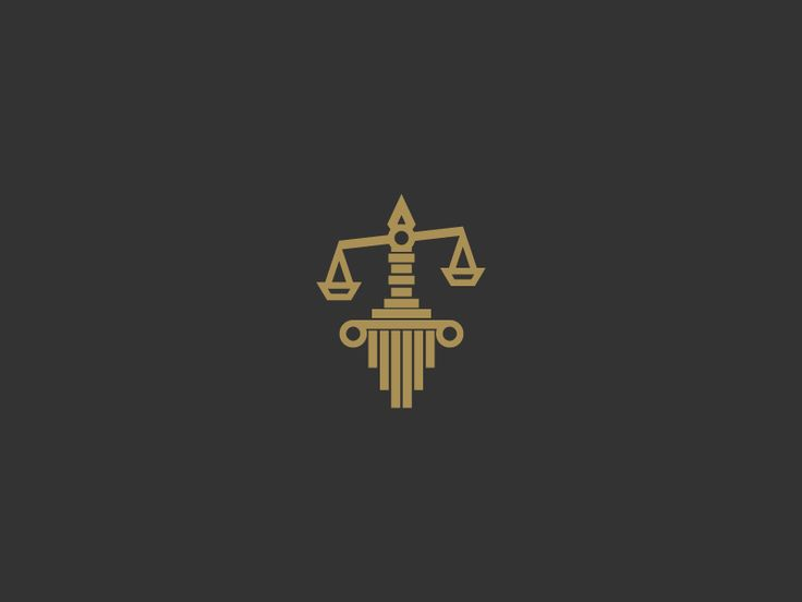 Aggressive Law firm. This is another mash-up of imagery, which looks nice. It's less hard than a sword being the hilt of the scales of justice