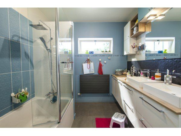 Les 25 meilleures id es de la cat gorie salle de bain 6m2 sur pinterest dim - Salle d eau leroy merlin ...