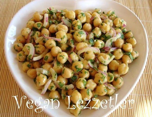 hardallı nohut salatası